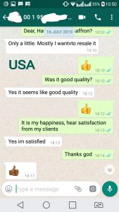 comment about us from USA